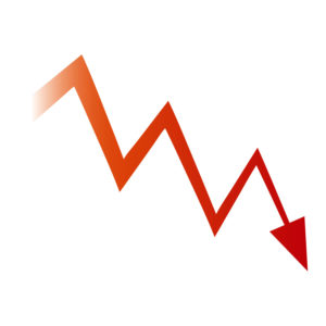 下げるチャート