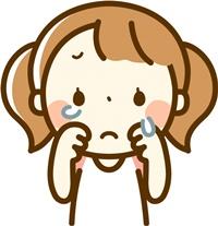 泣く小ども